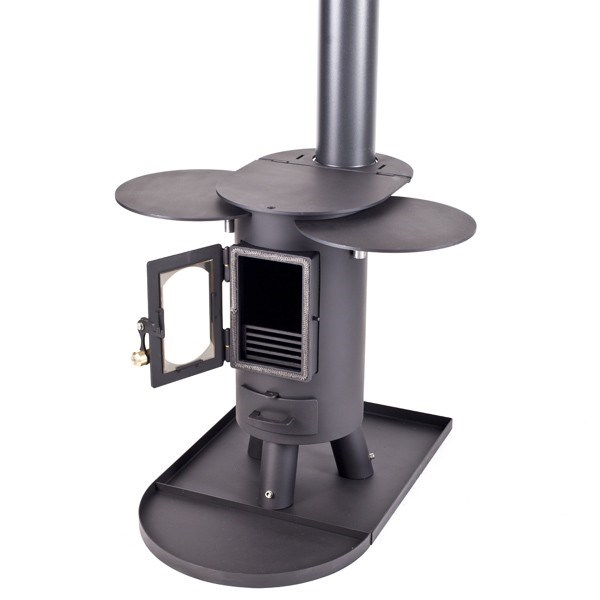 Outdoor Wood Stove crowdbuild for