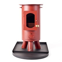 Traveller Stove Portable Outdoor Wood Burner Mojave Red
