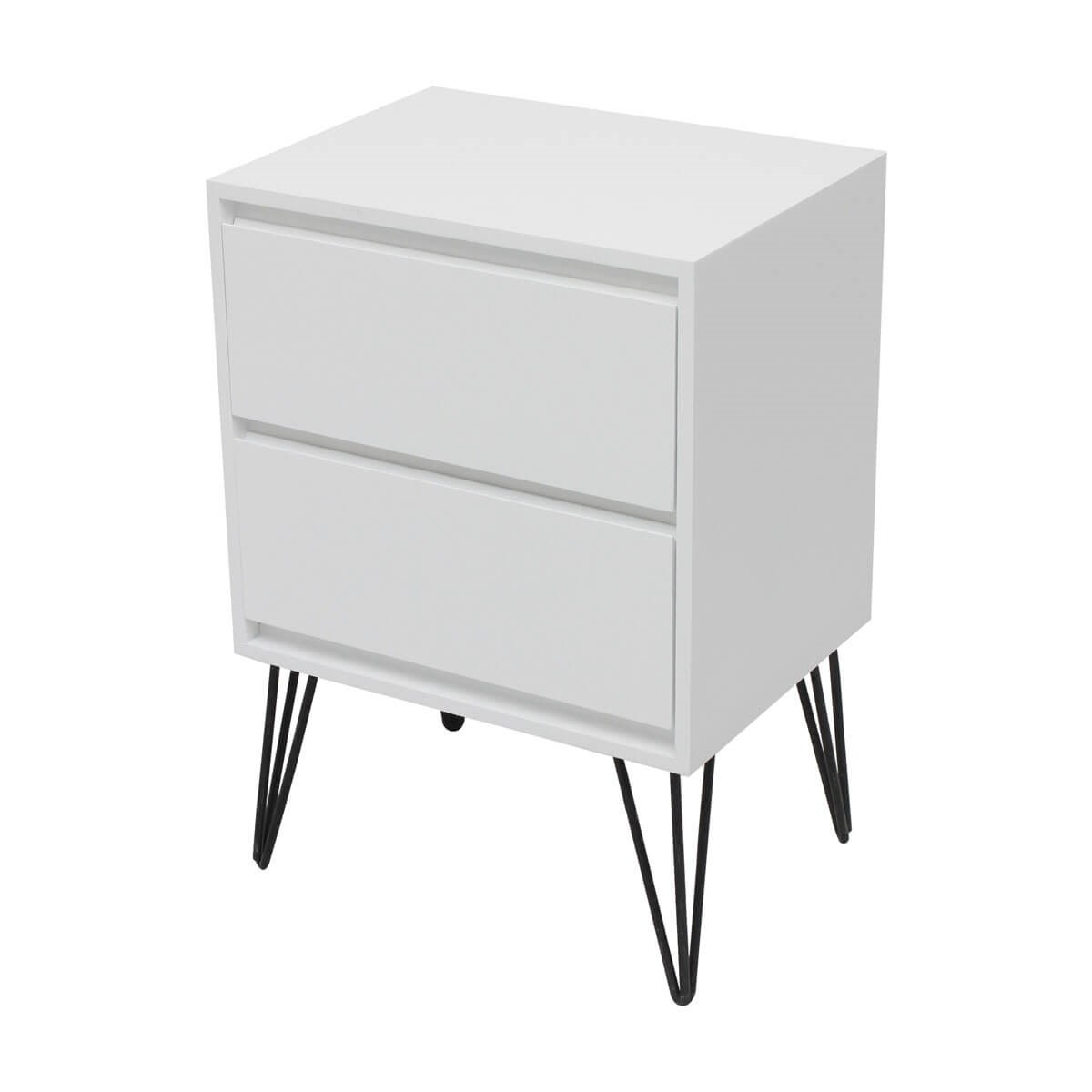 Two Drawer Bedside Table