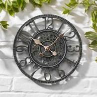 Verdigris Garden Wall Clock