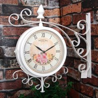 Vintage Style Garden Wall Clock