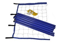 Volleyball Badminton Net with Poles