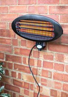 Wall mounted 2000W Electric Garden Heater