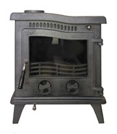 Wave Design Cast Iron Multi Fuel Stove
