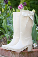 Weddington Wedding Wellies Bridal Shoes