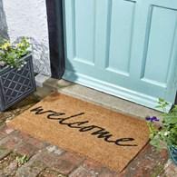 Welcome Coir Door Mat