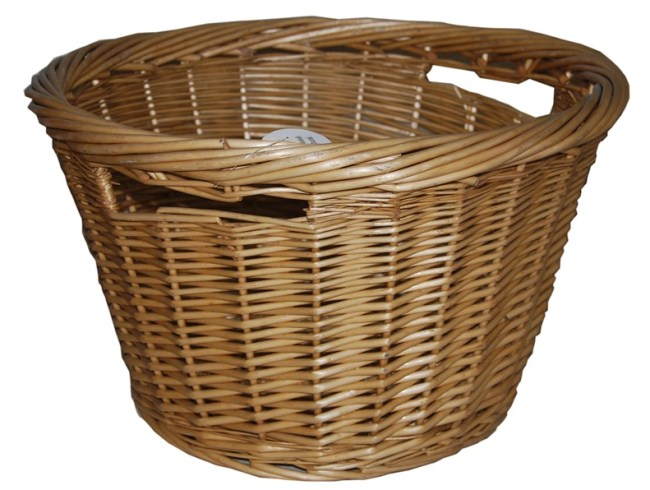 Wicker Log Basket or Washing Basket, Toy Store