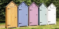Wooden Garden Tool Shed Various Colours