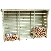 Wooden Log Store Three Sizes